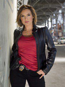 Mariska Hargitay na pele da detetive Olivia Benson (Crédito NBC Photo/Justin Stephens)