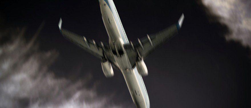 Plane crash concept