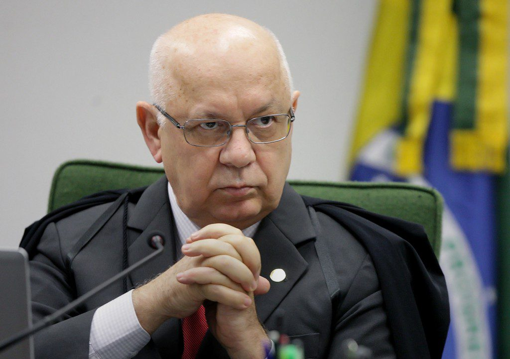 Ministro Teori Zavascki, do STF