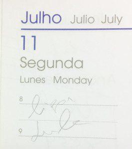 Agenda - Ligar Lula