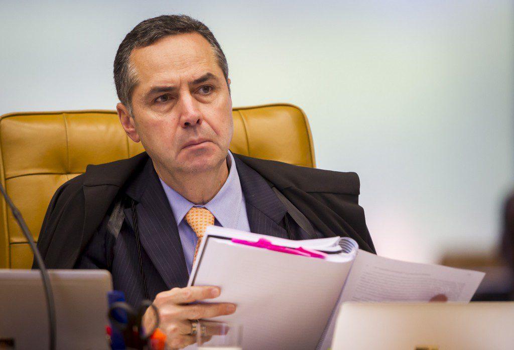 Ministro Luís Barroso em sessão plenária. Foto: Dorivan Marinho/SCO/STF