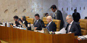Ministros do STF em sessão plenária. Foto: Carlos Humberto/SCO/STF