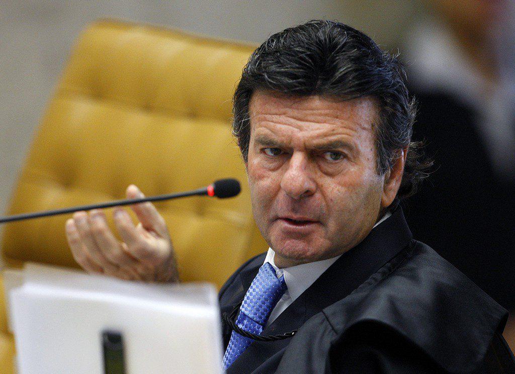 Ministro Luiz Fux durante sessão do STF. Foto: Nelson Jr./SCO/STF