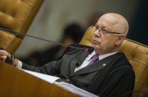 Ministro Teori Zavascki em sessão plenária. Foto: Dorivan Marinho/SCO/STF
