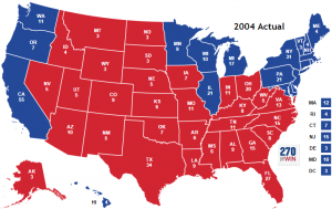 2004 Election Map