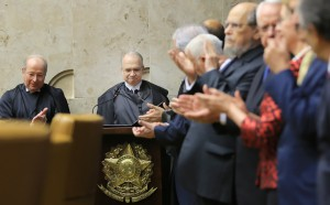 Sessão solene de posse do novo ministro da Corte, Luiz Edson Fachin. Foto: Fellipe Sampaio/SCO/STF