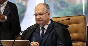 Ministro Edson Fachin durante sessão do STF sobre o impeachment. Carlos Humberto/SCO/STF (14/04/2016)