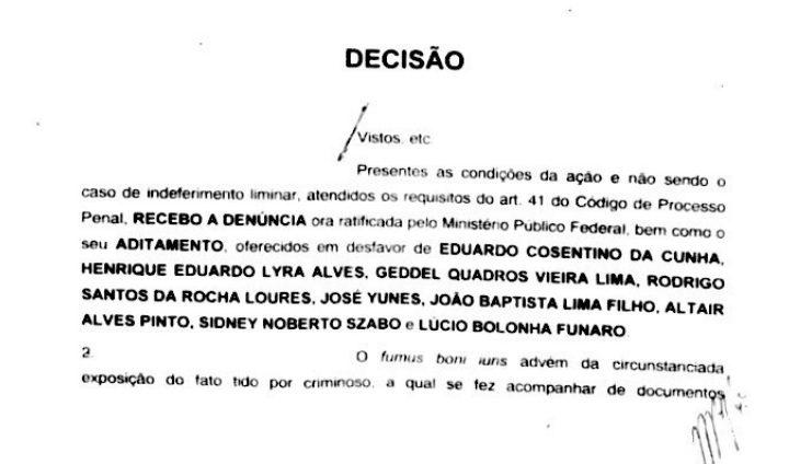 Juiz aceita denúncia contra amigos de Temer — Urgente