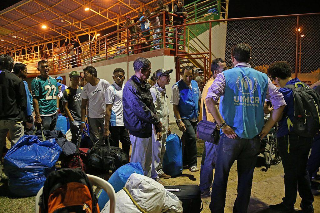refugiados da venezuela