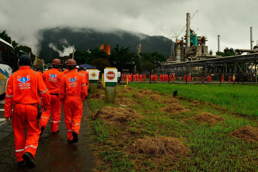greve dos petroleiros
