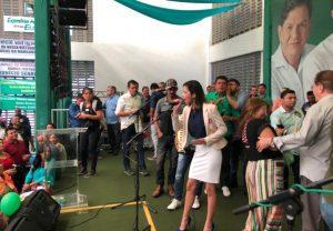candidata a deputada Sabrina Veras
