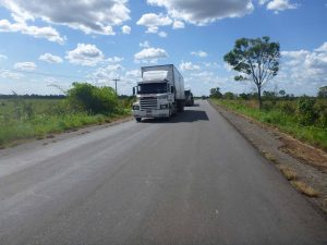 CNT rodovia STJ mercadoria roubada transporte estradas Receita Federal