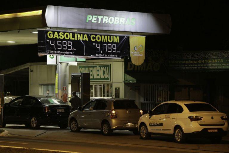 preço da gasolina