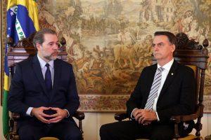 Toffoli e Bolsonaro