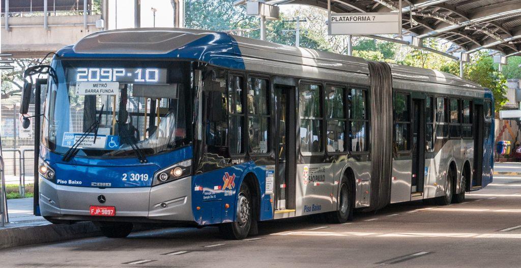 licitação de ônibus