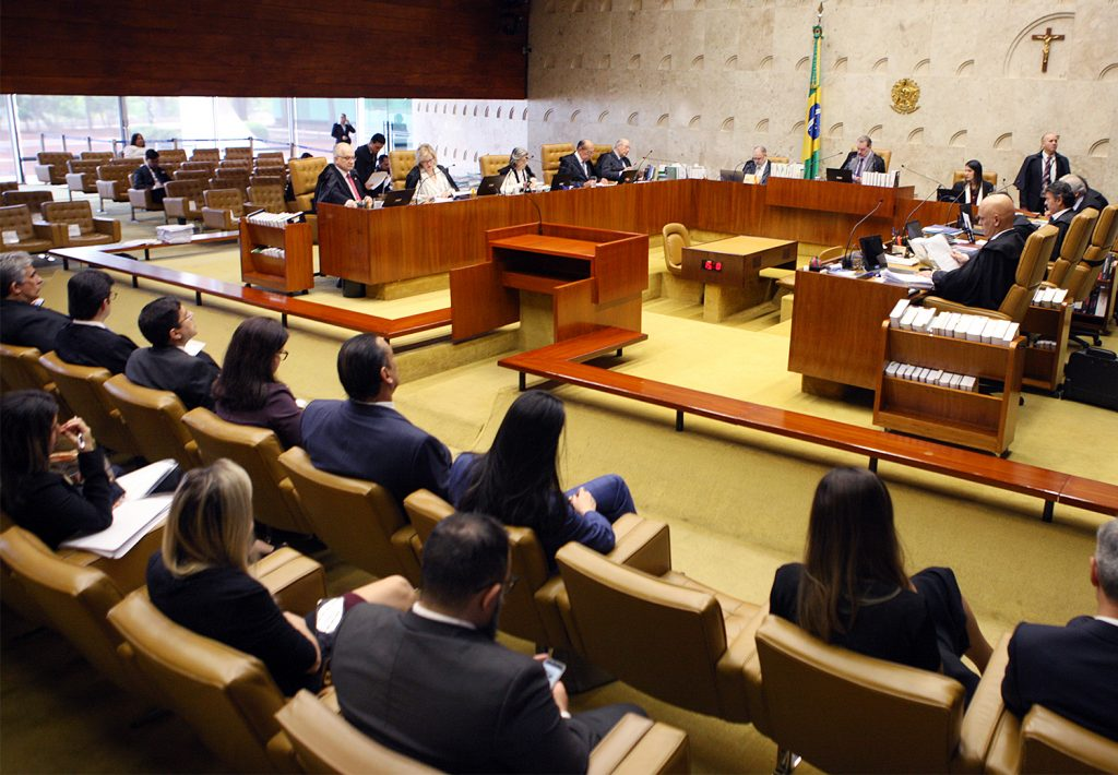 Plenário do Supremo Tribunal Federal stf coronavírus