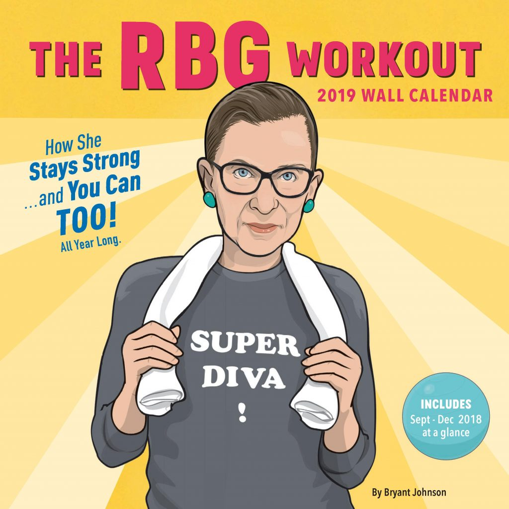 RBG Super Diva 2020 Calendar - divulgação