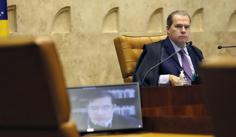 Toffoli e AGU no julgamento da constitucionalidade da MP 966