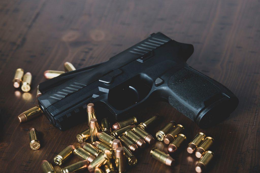 munição para armas de fogo