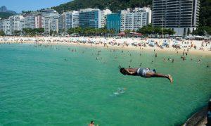 vaga na praia