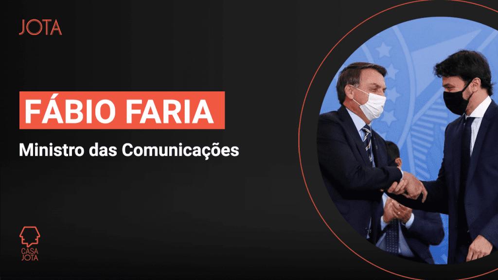 Casa JOTA: Fábio Faria, ministro das Comunicações - JOTA Info