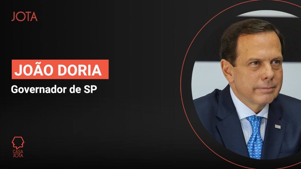 Joao Doria, de SP, na casa JOTA